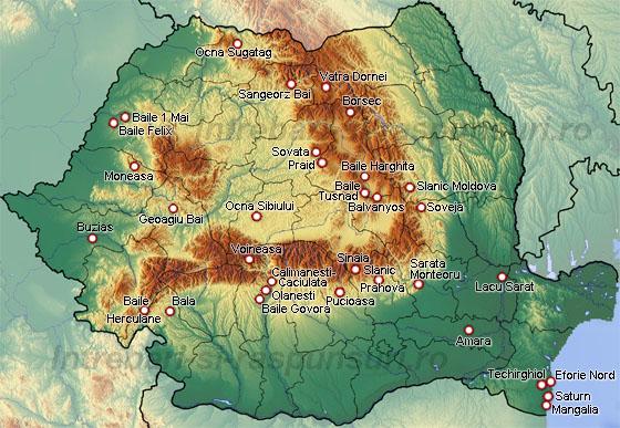 Statiuni balneare din Romania