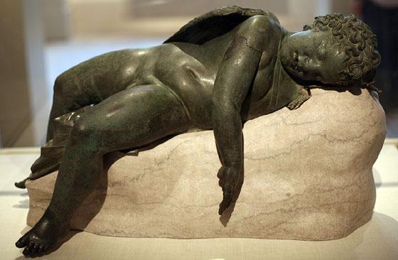 Eros dormind